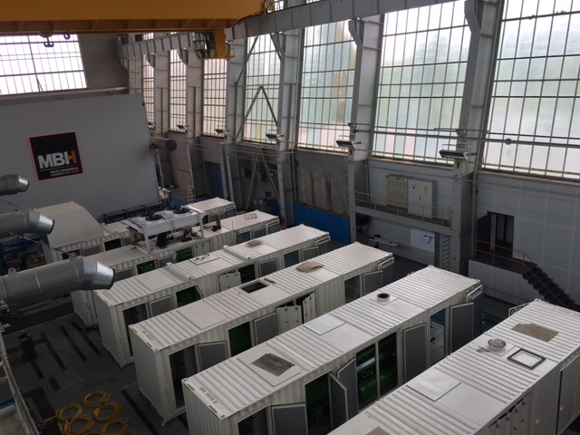 Genset Containerization